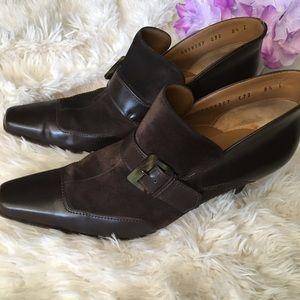 Salvatore Ferragamo Leather/Suede Shoes